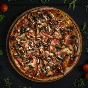 diluca pizza oradea Prosciutto e Funghi